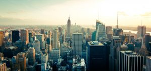 The cityscape of Manhattan. - one of top NYC neighborhoods for seniors
