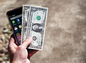 Mobile phone and money - something that you will be lacking by being college grad in NYC