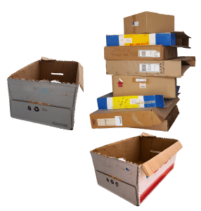 old packing supplies that can be serious DIY relocation challenges