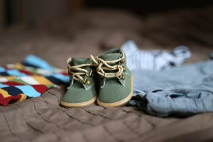 baby shoes that you should offer when you organize a yard sale in NY