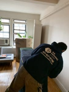 How much does it cost to move a one bedroom apartment in nyc
